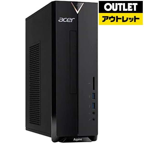 【アウトレット品】 デスクトップPC(モニター別売)[Celeron・SSD 128GB・メモリ 4GB] Aspire X  XC-830-F14Q 【数量限定品】