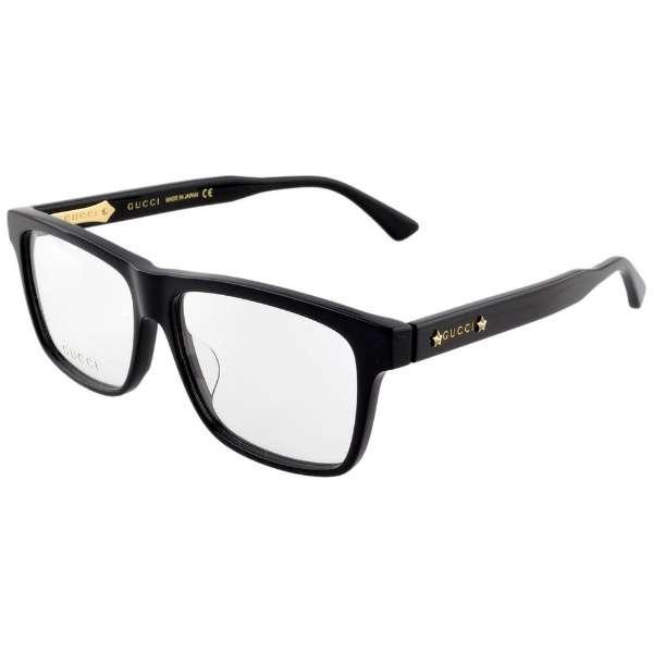 【度無しクリアレンズ】GUCCI メガネセット(ブラック)GG0269OA-001[薄型/屈折率1.60/非球面/PCレンズ]