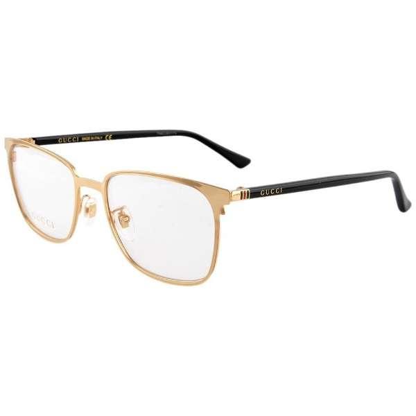 【度付き】GUCCI メガネセット(ゴールド)GG0294O-001[超薄型/屈折率1.67/非球面]