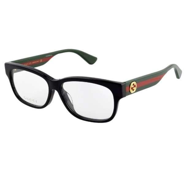 【度付き】GUCCI メガネセット(ブラック)GG0278OA-005[超薄型/屈折率1.67/非球面]