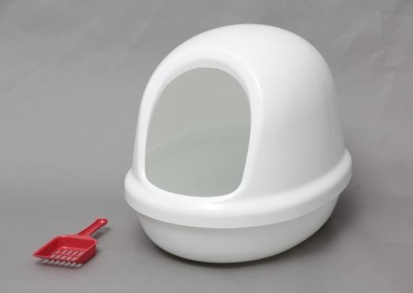 ネコのトイレ フルカバー P-NE-500-F [しろ]