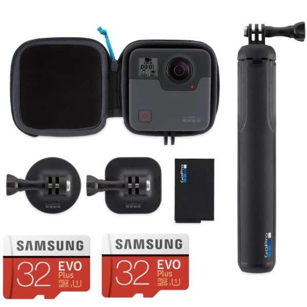 360°アクションカメラ GoPro(ゴープロ) Fusion MicroSD付フルセット CHDHZ-103-FW2 [4K対応 /防水]