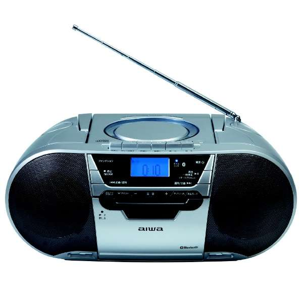 CSD-MV20B CDラジオカセットレコーダー [Bluetooth対応 /ワイドFM対応 /CDラジカセ]