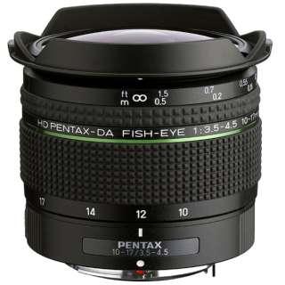 カメラレンズ HD PENTAX-DA FISH-EYE10-17mmF3.5-4.5ED APS-C用 [ペンタックスK /ズームレンズ]