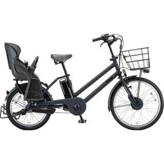 24/20型 電動アシスト自転車 bikke GRI dd(E.XBKダークグレー/内装3段変速)BG0B49【2019年モデル】 【組立商品につき返品不可】