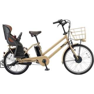 24/20型 電動アシスト自転車 bikke GRI dd(E.Xランドベージュ/内装3段変速)BG0B49【2019年モデル】 【組立商品につき返品不可】