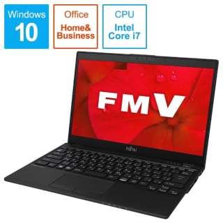FMVUXD2B ノートパソコン LIFEBOOK UH-X/D2 ピクトブラック [13.3型 /intel Core i7 /SSD:512GB /メモリ:8GB /2019年夏モデル]