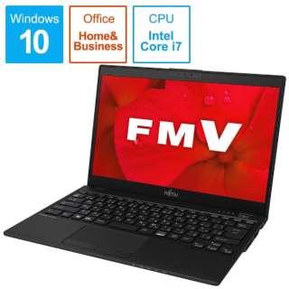 FMVU90D2B ノートパソコン LIFEBOOK UH90/D2 ピクトブラック [13.3型 /intel Core i7 /SSD:512GB /メモリ:8GB /2019年夏モデル]