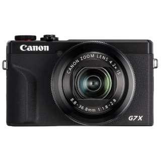 コンパクトデジタルカメラ PowerShot(パワーショット) G7 X Mark III ブラック