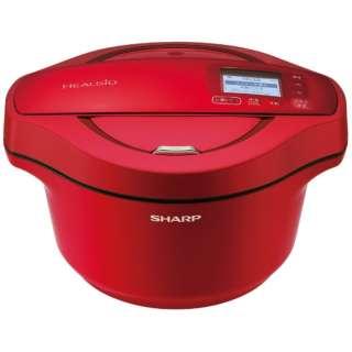 KN-HW24E-R 水なし自動調理鍋 HEALSIO(ヘルシオ)ホットクック レッド系