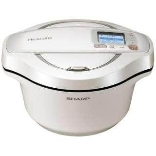 KN-HW24E-W 水なし自動調理鍋 HEALSIO(ヘルシオ)ホットクック ホワイト系