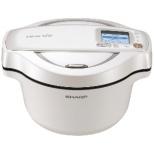 KN-HW16E-W 水なし自動調理鍋 HEALSIO(ヘルシオ)ホットクック ホワイト系
