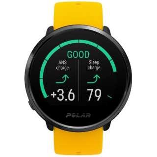 90075950 GPS内蔵フィットネスウォッチ M/L Ignite イエロー