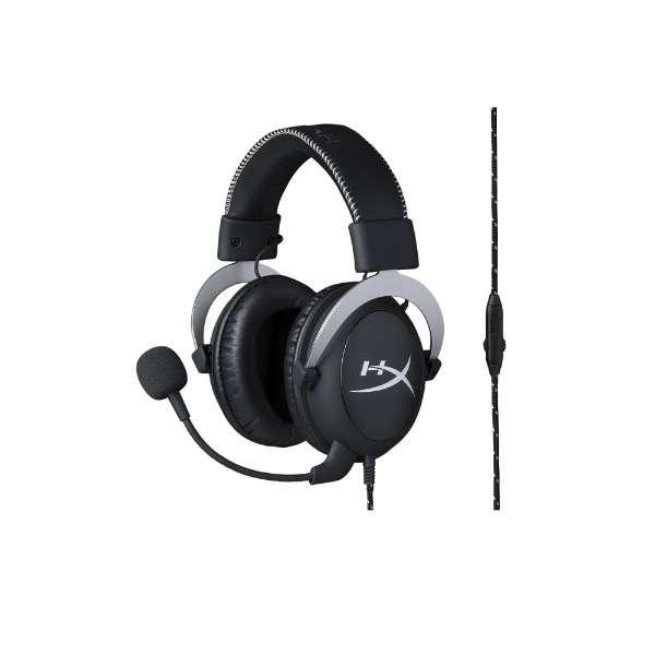 ゲーミングヘッドセット HX-HSCL-SR/NA シルバー [φ3.5mmミニプラグ /両耳 /ヘッドバンドタイプ]