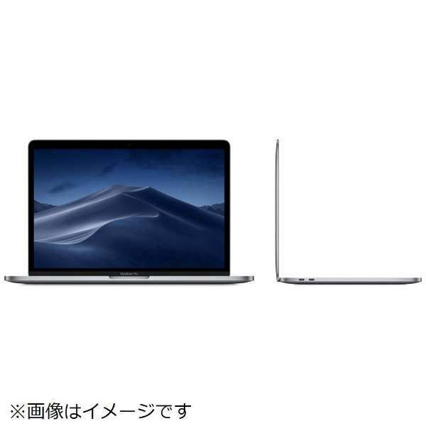 MacBookPro 13インチ Touch Bar搭載モデル[2019年/SSD 256GB/メモリ 8GB/1.4GHzクアッドコアIntel  Core i5]スペースグレイ MUHP2J/A