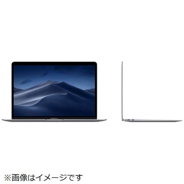 MacBook Air 13インチRetinaディスプレイ [2019年 /SSD 256GB/メモリ 8GB/1.6GHzデュアルコアIntel Core i5]スペースグレイ MVFJ2J/A