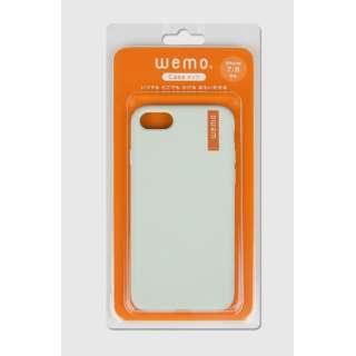 wemo ウェアラブルメモ ケースタイプiPhone 7/8用 ペールグリーン