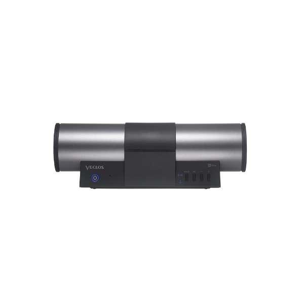 VECLOS ワイヤレスポータブルスピーカー SPW-500 SPW-500WP-BK ブラック [Bluetooth対応 /防水]