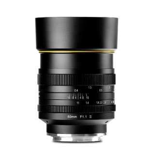 カメラレンズ 50mm F1.1 II マニュアルフォーカス KamLan(カムラン) [キヤノンEF-M /単焦点レンズ]