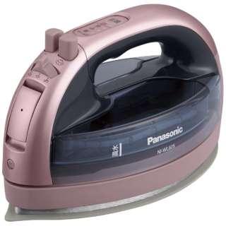 コードレススチームアイロン CaRuru(カルル) NI-WL605-P ピンク [ハンガーショット機能付き]