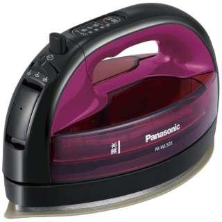 コードレススチームアイロン CaRuru(カルル) NI-WL505-P ピンク [ハンガーショット機能付き]