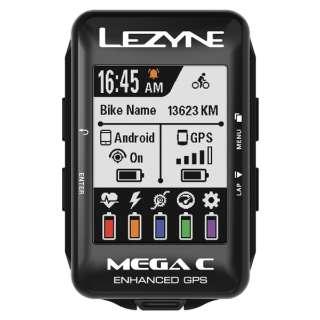 GPSサイクルコンピューター MEGA C GPS(2.2インチディスプレイ/ブラック) 57_3701101002