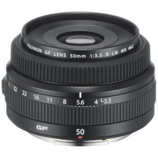カメラレンズ フジノン GFレンズ GF50mmF3.5 R LM WR【FUJIFILM Gマウント】