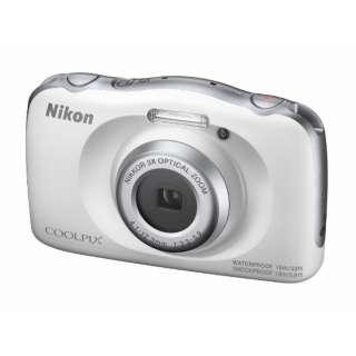 W150WH コンパクトデジタルカメラ COOLPIX(クールピクス) ホワイト [防水+防塵+耐衝撃]