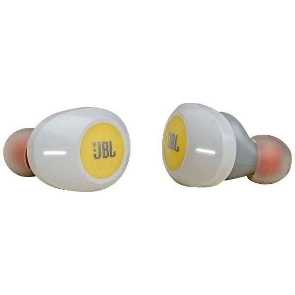 フルワイヤレスイヤホン JBLT120TWSYEL イエロー [リモコン・マイク対応 /ワイヤレス(左右分離) /Bluetooth]