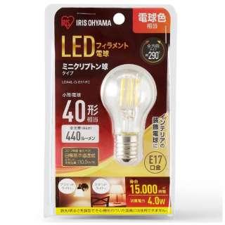LEDフィラメント電球 ミニクリプトン球タイプ LDA4L-G-E17-FC