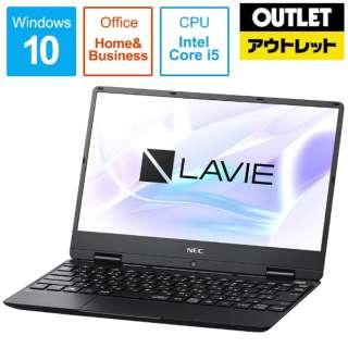 【アウトレット品】 12.5型ノートPC [Office付・Core i5・SSD 256GB・メモリ 8GB] LAVIE Note Mobile(NM550/MAシリーズ)  PC-NM550MAB パールブラック 【外装不良品】