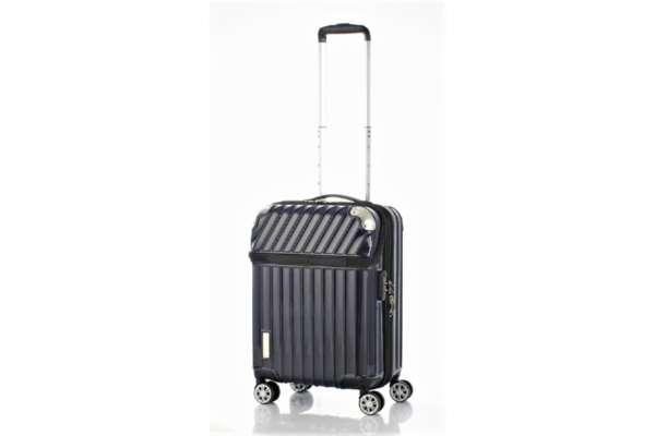 スーツケースのおすすめ11選 協和「トラベリスト モーメント」カーボンネイビー(35L)