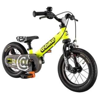 12型 ランニングバイク D-Bike ディーバイク マスター 12 EZB(ネオンイエロー) 3826