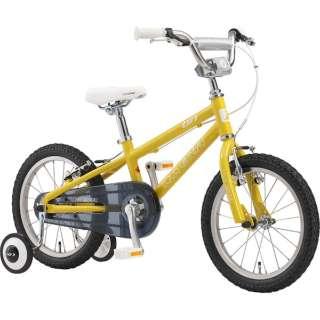 16型 子供用自転車 K16 220mm(LEMON YELLOW/シングルシフト) 【組立商品につき返品不可】