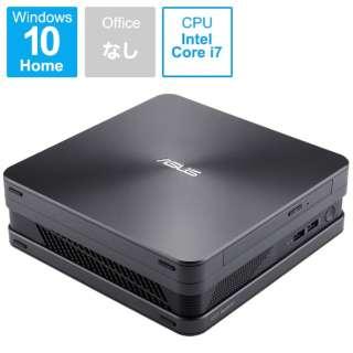 VC65-C1G7096ZN デスクトップパソコン VivoMini アイアングレー [モニター無し /HDD:500GB /メモリ:8GB /2019年7月モデル]