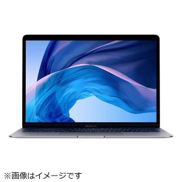 MacBook Air 13インチRetinaディスプレイ USキーボード カスタマイズモデル [2018年 /SSD 512GB /メモリ 16GB /1.6GHzデュアルコアIntel Core i5] スペースグレイ MUQT2JA/A