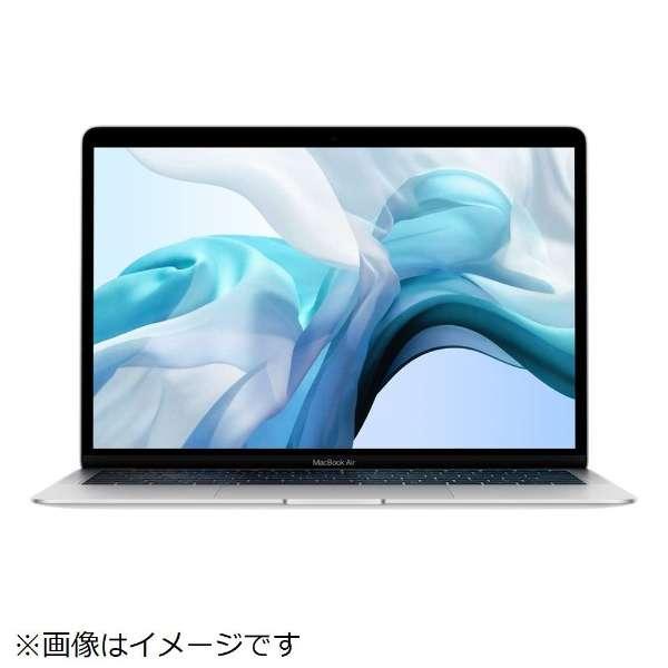 MacBook Air 13インチRetinaディスプレイ USキーボード カスタマイズモデル [2018年 /SSD 512GB /メモリ 16GB /1.6GHzデュアルコアIntel Core i5] シルバー MUQU2JA/A