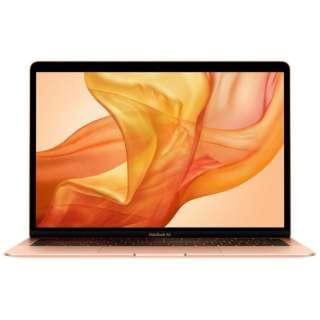 MacBook Air 13インチRetinaディスプレイ カスタマイズモデル [2018年 /SSD 512GB /メモリ 16GB /1.6GHzデュアルコアIntel Core i5] ゴールド MUQV2J/A