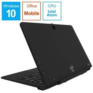 WiZ 2IN1 PC ノートパソコン ブラック KIC104-BK [10.1型 /intel Atom /eMMC:64GB /メモリ:4GB /2019年7月モデル]