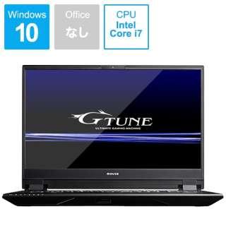 G-Tune ゲーミングノートパソコン BC-GN1597R274K-192 [15.6型 /intel Core i7 /HDD:1TB /SSD:512GB /メモリ:16GB]