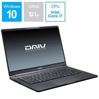 DAIV ノートパソコン BC-DAIVN14MX25-192 [14.0型 /intel Core i7 /SSD:512GB /メモリ:16GB /2019年8月モデル]
