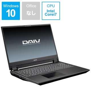 DAIV ノートパソコン BC-DAIVN15R264K-192 [15.6型 /SSD:1TB /メモリ:32GB /2019年8月モデル]
