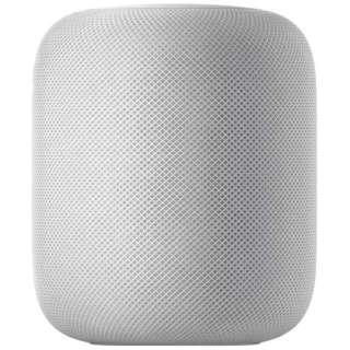 スマートスピーカー HomePod ホワイト MQHV2J/A [Bluetooth対応 /Wi-Fi対応]