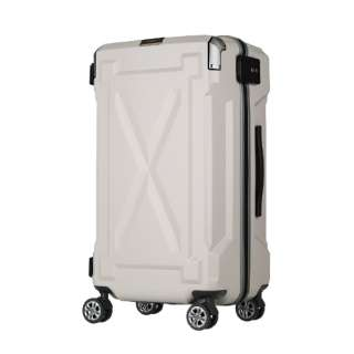 【LEGEND WALKER OUTDOOR シリーズ】大切なものを雨や水から守る防水仕様スーツケース 6304-72-IV アイボリー [(約)87L]