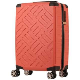 スーツケース 100L DECK ZIPPER(デッキジッパー) ピンク 5204-69-PK [TSAロック搭載]