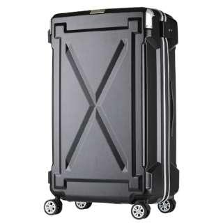 【LEGEND WALKER OUTDOOR シリーズ】大切なものを雨や水から守る防水仕様スーツケース 6304-49-BK ブラック [(約)35L]