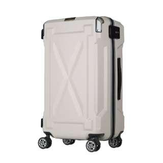 【LEGEND WALKER OUTDOOR シリーズ】大切なものを雨や水から守る防水仕様スーツケース 6304-61-IV アイボリー [(約)56L]