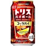 [数量限定] トリス コーラハイボール (350ml/24本)【缶チューハイ】