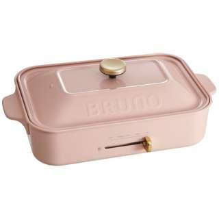 BOE021-PPK コンパクトホットプレート BRUNO(ブルーノ) ぺールピンク