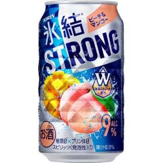 氷結ストロング ピーチ&マンゴー (350ml/24本)【缶チューハイ】